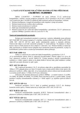 Rozhraní - CODEA spol. s ro