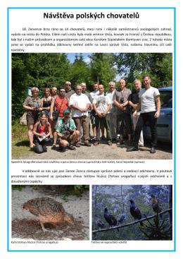 Návštěva polských chovatelů