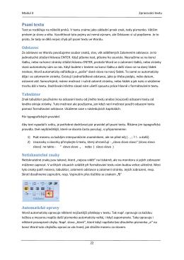 Používání počítače a správa souborů