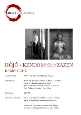 hôjô - kendō /zazen