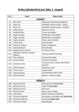Seznam knih v knihovně