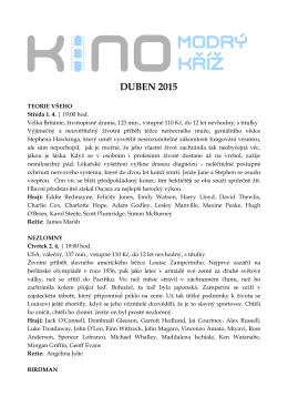 DUBEN 2015 program pro pdf