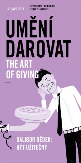 Umění darovat 12/Jaro 2015