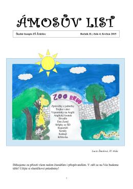 Ámosův list 05_2015 - Základní škola a Mateřská škola Želešice