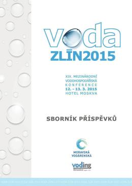 Sborník Voda Zlín 2015 - MORAVSKÁ VODÁRENSKÁ, as