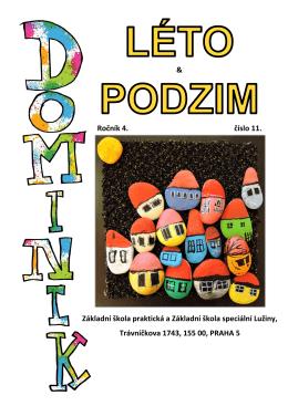 Školní časopis Dominik číslo 11, ročník 4