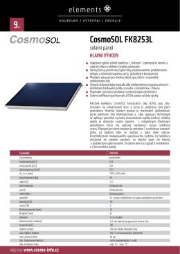 CosmoSOL FK8253L 9.