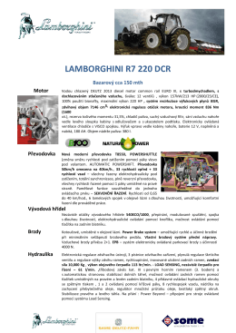 LAMBORGHINI R7 220 DCR