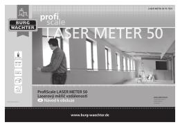 ProfiScale LASER METER 50 Laserový měřič
