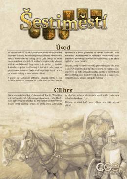 Šestiměstí - Czech Games Edition