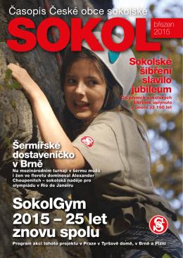 SokolGym 2015 – 25 let znovu spolu