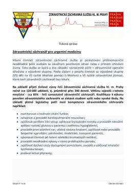 TZ_12_06_15 - Záchranná služba hl. m. Prahy