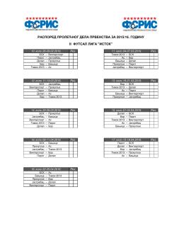 II Futsal liga