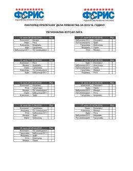 Regionalna futsal liga
