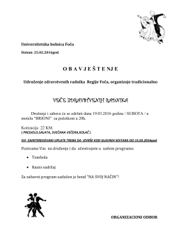 OVDE - Bolnica Foča
