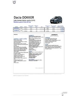 Aktuelni cenovnik Dokker N1