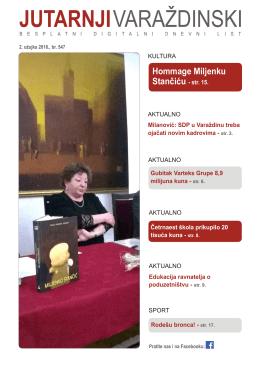 Hommage Miljenku Stančiću - str. 15.