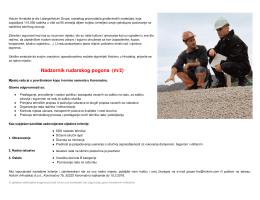 Nadzornik rudarskog pogona (m/ž)
