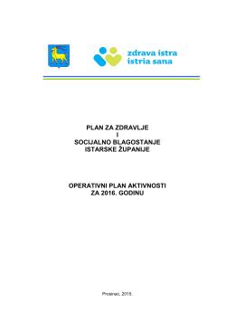 plan za zdravlje i socijalno blagostanje istarske