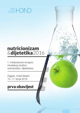 nutricionizam&dijetetika2016 - Hrvatsko društvo nutricionista i