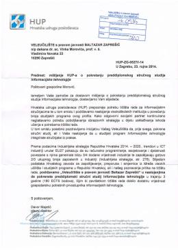 Preporuka Hrvatske udruge poslodavaca