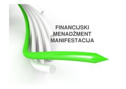 Financijski menadžment manifestacija