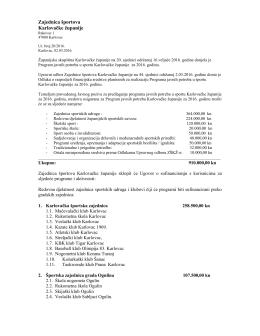 ovdje! - Zajednica športova Karlovačke županije