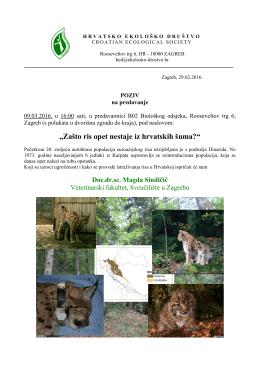 Zašto ris opet nestaje iz hrvatskih šuma?