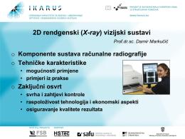 2D rendgenski vizijski sustavi, izlagač