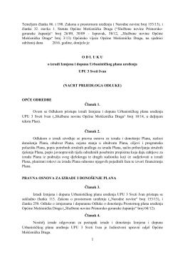 ID UPU Sv. Ivan - Odluka
