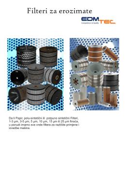 Filteri za erozimate
