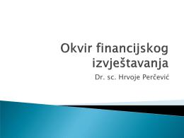 Računovodstvene pretpostavke, računovodstvena načela i