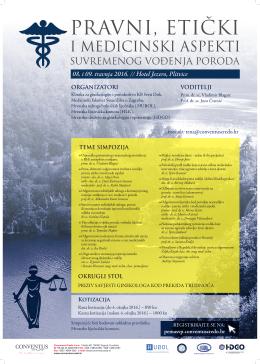 Plakat - Hrvatska Komora Primalja