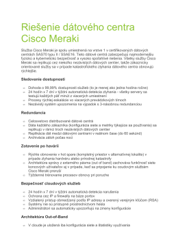 DS_Cisco Meraki Datacenter Design_SK