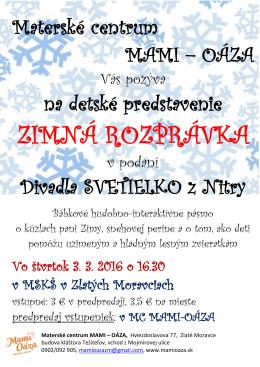 mamioaza-rozpravka-marec2016 mamioaza-rozpravka
