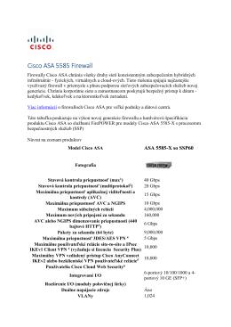 Cisco ASA 5585 Firewall