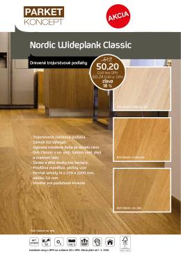 Parket Koncept NORDIC - Wideplank Classic
