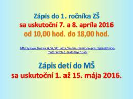 Zápis - zsatomovatt.sk