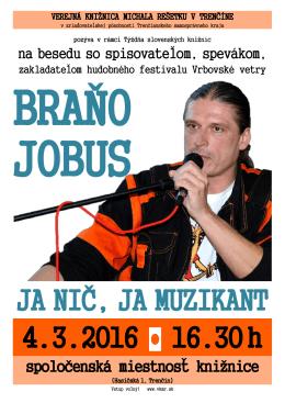 JA NIČ, JA MUZIKANT 4.3.2016 16.30h