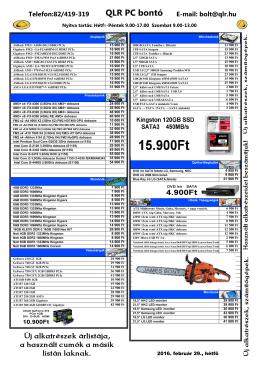 árlista - pdf