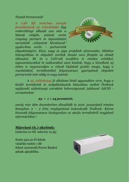 6.promo - Lan Kft.