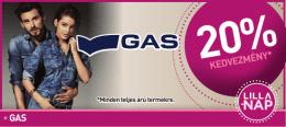 kedvezmény* •gas