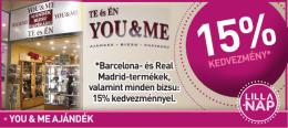 KEDVEZMÉNY* •YOU & ME AJÁNDÉK *Barcelona