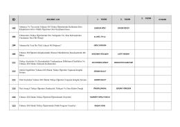 kabul edilen bildiriler - Dil Bilimi