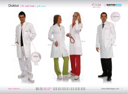 Doktor / Dr. Lab Coat / ﻲﺑط لوﯾرﻣ