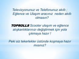 Slayt 1 - TopRolls