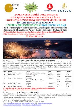 tur detayı - Golden Bay Cruise Gemi Turları