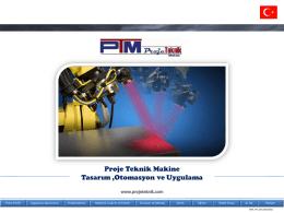 Proje Teknik Makina Sunum 2 mb