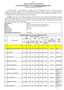 Bankacılık ve Sigortacılık Bölümü Maliye Programı(1007054)