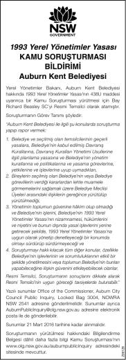 1993 Yerel Yönetimler Yasası KAMU